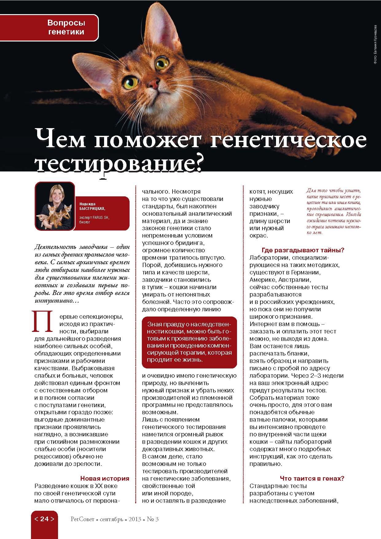 PETROVNA в журнале PetСовет